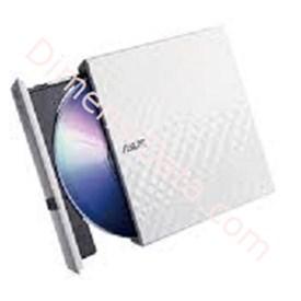 Jual ASUS External Slim DVD Drive [SDRW 08D2S-U LITE] - WHITE